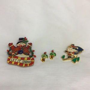 Christmas jewelry bundle